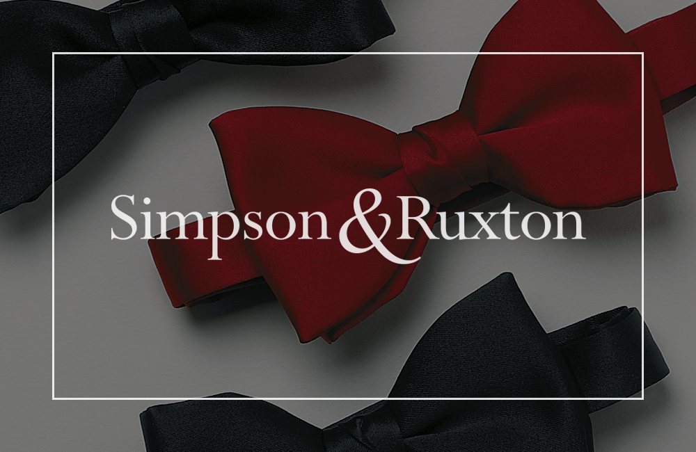 Simpson & Ruxton Bow Ties