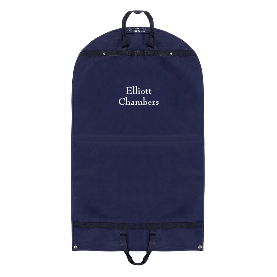 Navy Non-Woven Misprinted Suit Bags