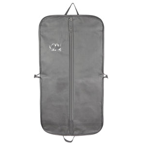 "44"" Breathable Grey Men Suit Travel Carrier"