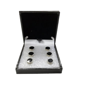 Luxury Dress Shirt Studs Black Tie Event Accessory