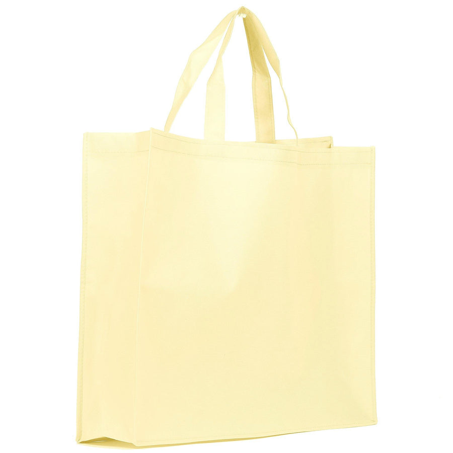 Breathable non-woven carrier bags