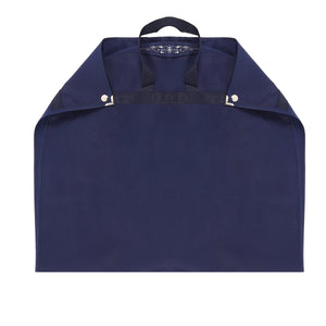 Non woven suit carrier with webbing handles