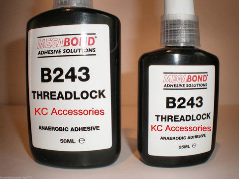 25ML/50ML B243 Threadlock Nutlock Studlock Thread Locksealer Medium Oil Tolerant