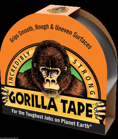 Gorilla Glue Tape Handy Roll 25mm 1'' Wide x 9.14meters Long Strong Duct Tape