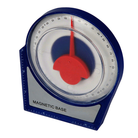 Magnetic Inclinometer Scaffolding Roofing General Angle Finder Level Gauge 100mm
