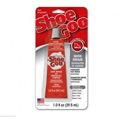 SHOE GOO CLEAR 109.4ML GENUINE GLUE-TRAINERS & ALL SHOE REPAIRS WITH NOZZEL