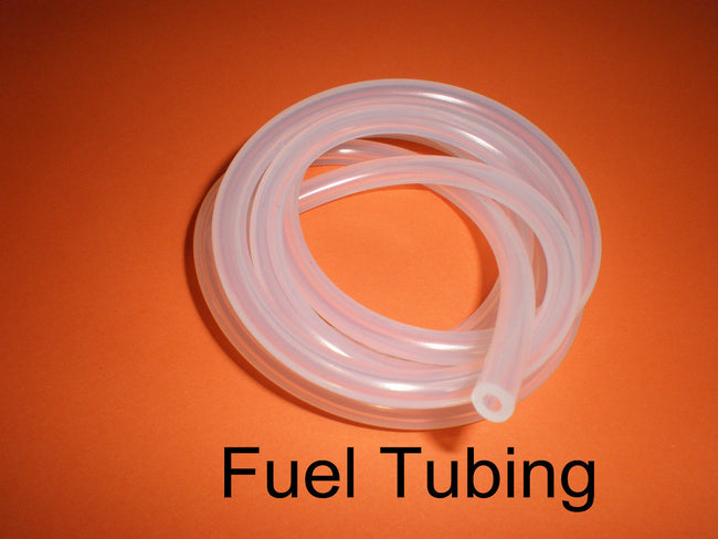 SILICONE Glow Fuel Line 1Mtr Clear For RC Plane & Car Heli.