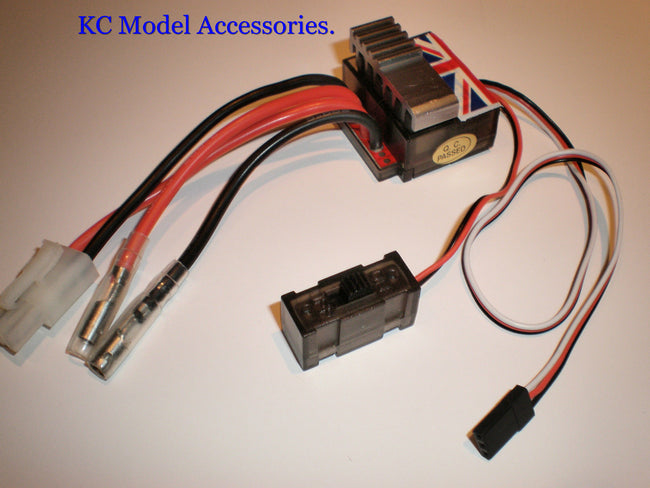 320A Brushed Speed Controller ESC R/C Car Boat Truck With Reverse 1/10,1/8