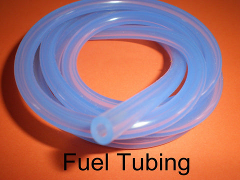 SILICONE Glow Fuel Line 1Mtr Clear Blue For RC Plane & Heli