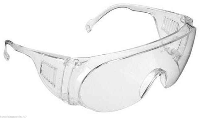 Over The Glasses Safety Spectacles JSP Clear Lightweight