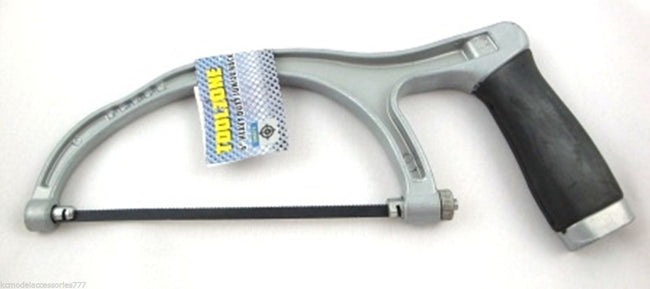 "6"" 150mm Heavy Duty Aluminium Junior Hacksaw With Grip Handle Good Quality"