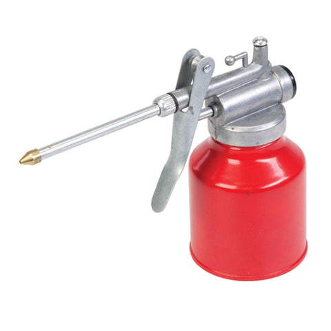 250ml Oil Can Die Cast Body With Rigid Spout & Thump Pump Good Quality Tool