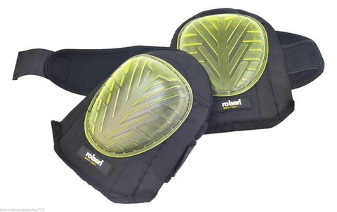 Rolson Professional Heavy Duty Gel Knee Pads Industrial Strength Sewn Caps
