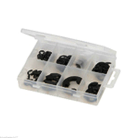 E Clip Pack Mini Pack 135 pcs Heavy Duty in Storage Box Popular Metric Sizes