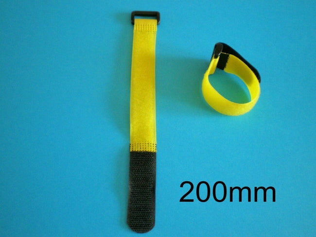 Velcro Strap 200mm Long For Lipo Battery Pack Suit 450/500 Helis Planes Cars