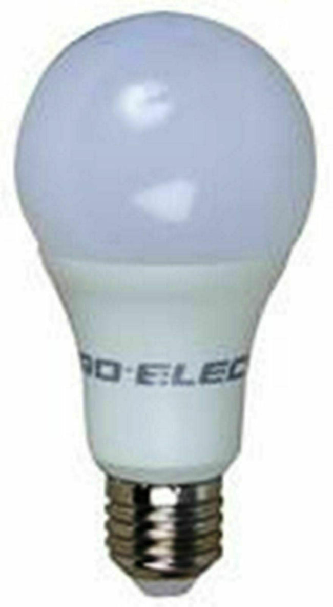 Light Bulb Daylight White E27 Screw Fix 6000K A+ Energy 15W GLS LED Frosted