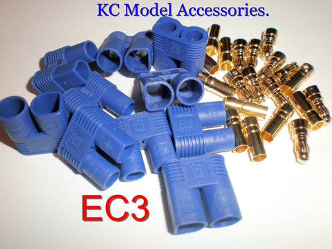 5 PAIRS EC3 BATTERY CONNECTORS