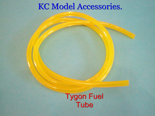 "TYGON FUEL TUBE 3.2mm 1/8"" Bore 1metre R/C Zenoah Gas Car Heli"