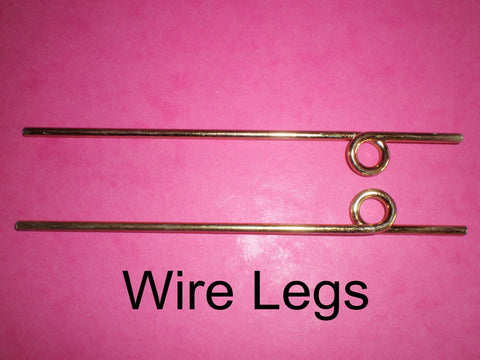 WIRE UNDERCARRIAGE LEGS 145mm x 1 pair