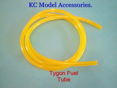 "TYGON FUEL TUBE 3.2mm 1/8"" Bore 500mm R/C Zenoag Gas Jet Heli"