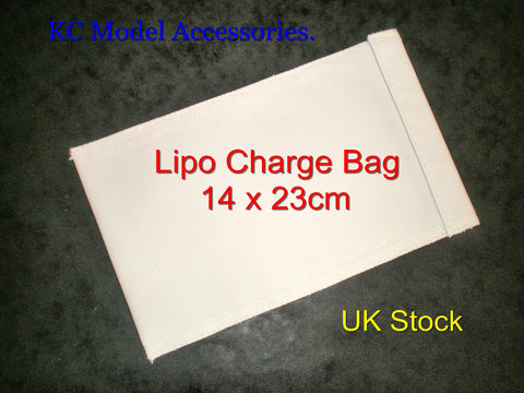 Lipo Battery Safe Guard Charging Small Bag 14 x 23cm