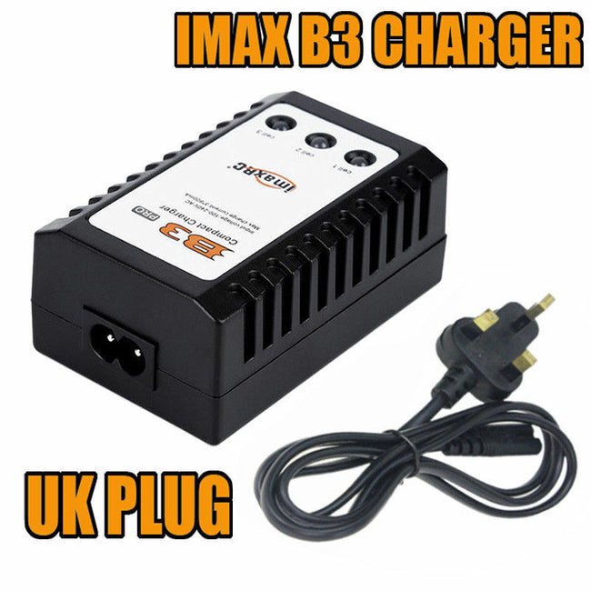 I Max RC B3 New Model Balance Compact Charger for 2S 3S 7.4V- 11.1V Lipo Battery