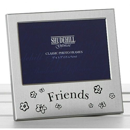 Photo Frame FRIENDS Silver Ideal Gift For Pictures Of Friends BFF 72184
