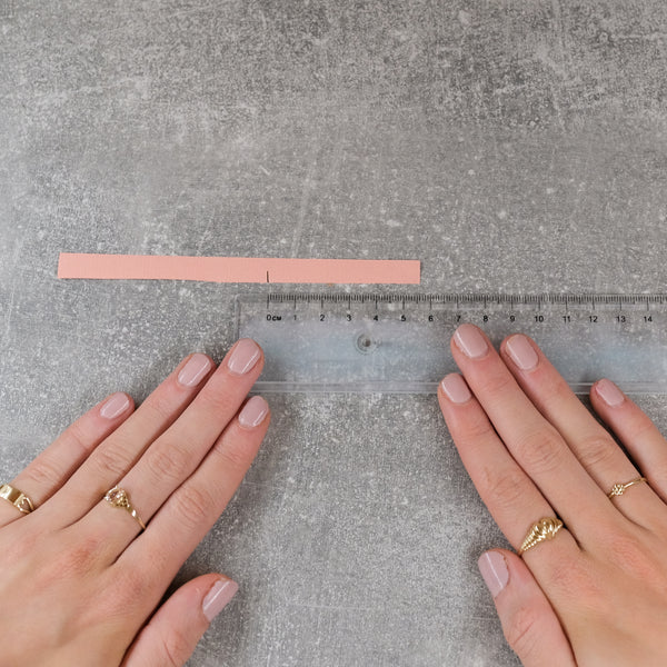 Ring size guide step 4