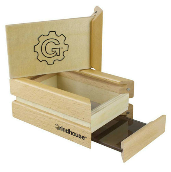 Grindhouse Wood Sifter Box - 4 inch x 6 inch - Head HQ