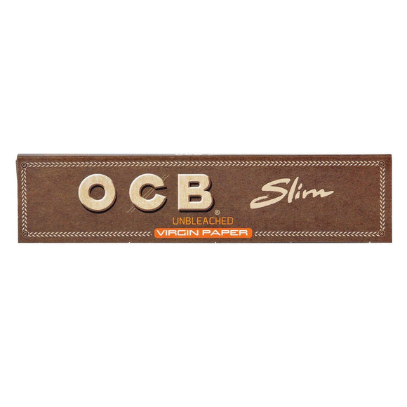 OCB - Virgin Unbleached - King Size Slim