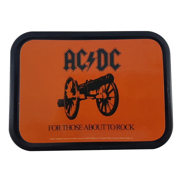 Stash Tin - 4.5 x 3.5 Inches - AC/DC - For those about to rock