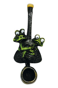 Resin Pipe - Mini - Two Frogs
