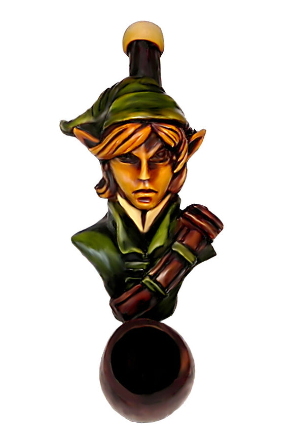Resin Pipe - Mini - Green Elf