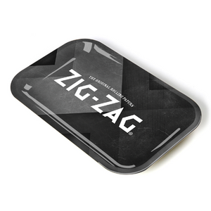Zig Zag Rolling Tray - Small - Black