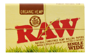 Raw - Organic Single Wide