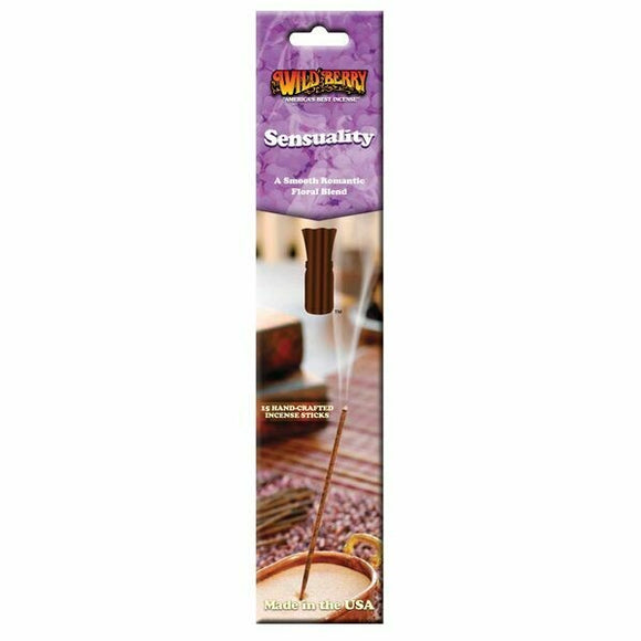 Wild Berry Packaged Sticks - Sensuality