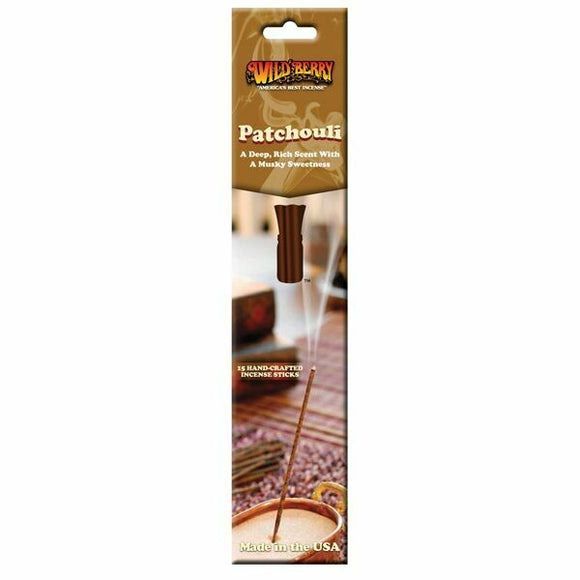 Wild Berry Packaged Sticks - Patchouli
