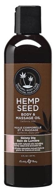 Earthly Body Massage & Body Oil - 8oz - Head HQ