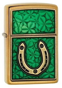 Zippo Lighter - Good Luck Talisman