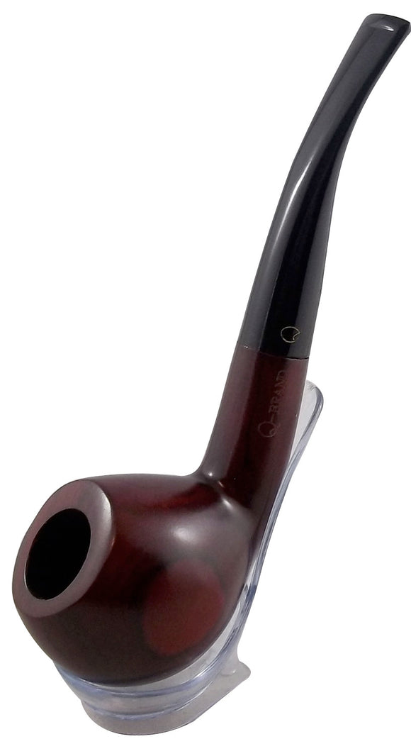 Wood Tobacco Pipe - Red