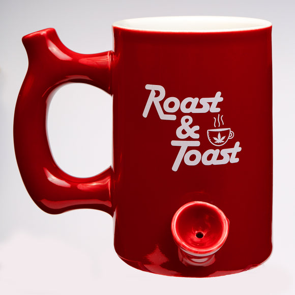 Mug Pipe - Roast & Toast - Red - Head HQ