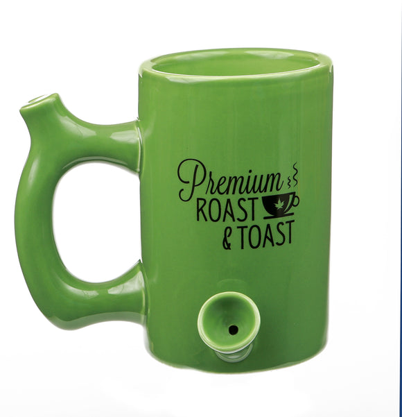 Mug Pipe - Roast & Toast - Green - Head HQ