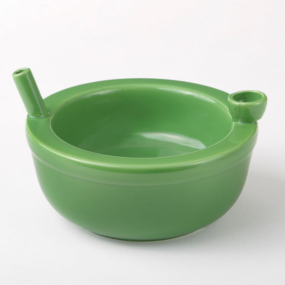 Cereal Bowl Pipe - Green - Head HQ