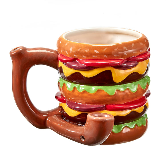 Mug Pipe - Cheeseburger - Head HQ