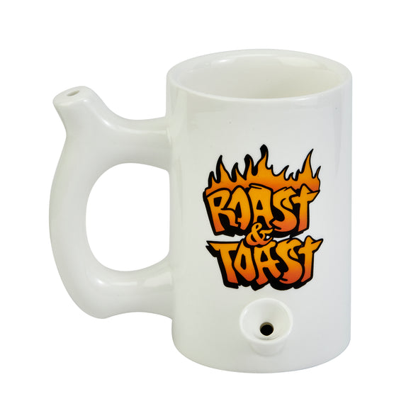 Mug Pipe - Roast & Toast Graffiti - White - Head HQ