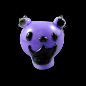Chameleon Glass - Dancing Bear - Purple