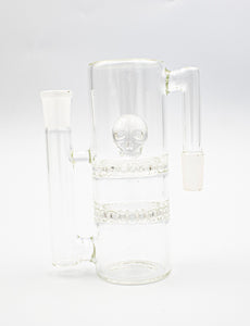 Skull UFO Ash Catcher 90° Clear - Head HQ