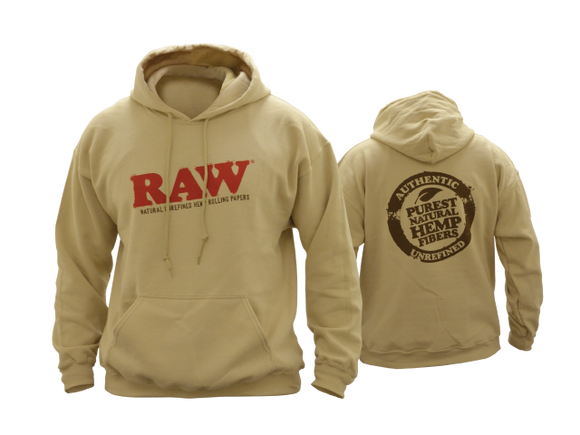 Raw Hoodie Sand - All Sizes