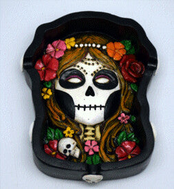 Resin Ashtray - Day of the Dead