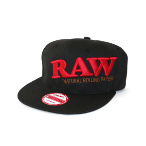 Raw - Black Snap-Back Hat - Head HQ
